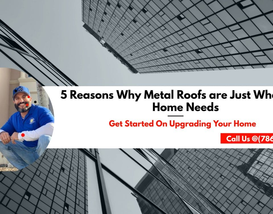5 Reasons Why Metal Roofs are Just What Your Home Needs