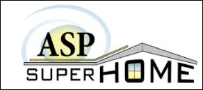 ASP SuperHome Business Logo