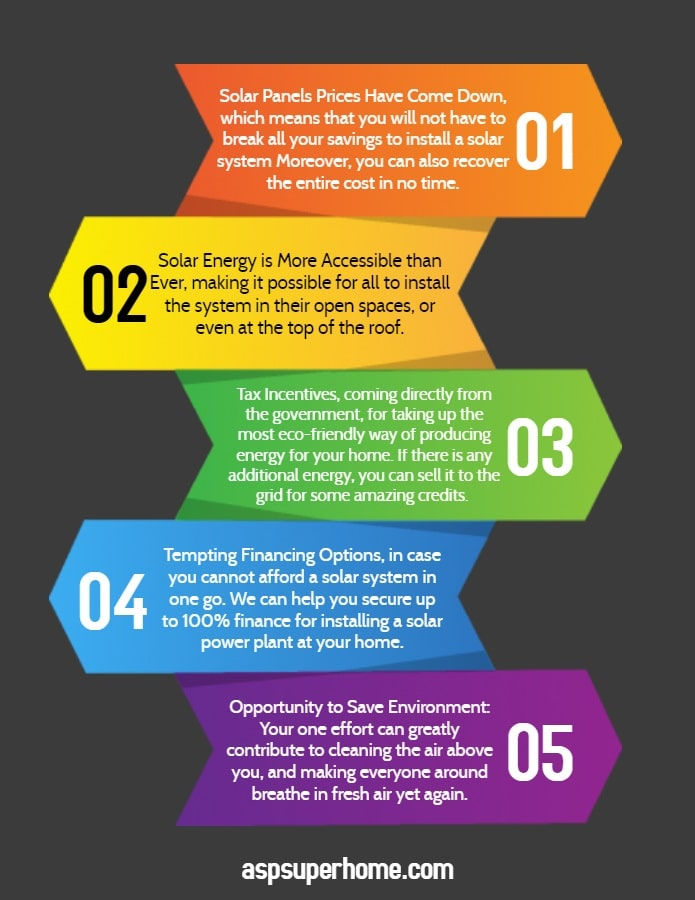 , Top Reasons that Point Towards Solar Power as our Future Energy Source